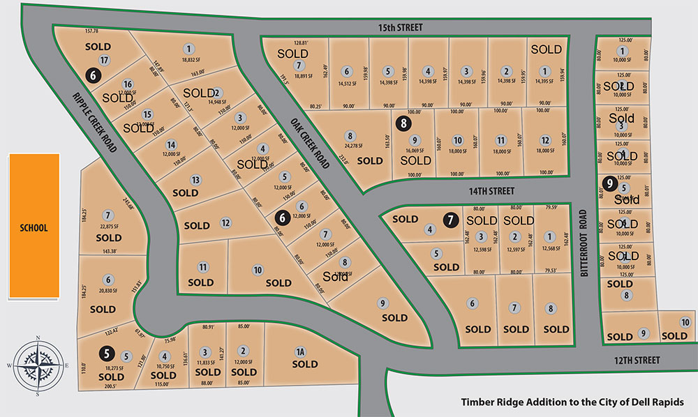 Timber Ridge Development City of Dell Rapids C&R Realty